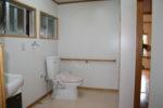 改修後のトイレ(裏座に設置)