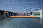 プール全景(大プールの奥から) ※プールはステンレス製
