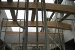 木構造材設置