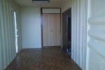 コンテナの個室