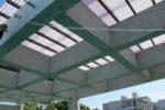 屋根付きテラスの屋根構造