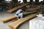 木構造材の加工