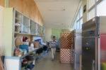 改修前の準備室と仕切り壁